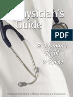 OK WRTK Physicians Guide