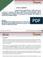 Propuesta Rehabilitacion y Mantenimiento Succ y Desc Mars100 Nha2