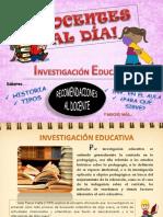 Docentes Al Dia Investigacion Educativa