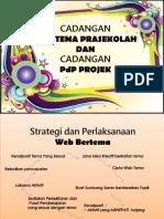 Cadangan Web Tema & PdP Projek- Salwa Sinaran
