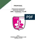 Proposal Inventaris Pramuka 2017