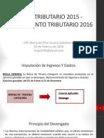 16.02.02 Cierre Tributario 2015 y Planeamiento Tributario 2016