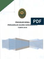 Program Kerja 2018