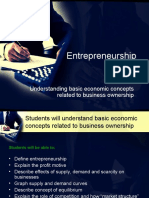 Basis of Entrepreneurship