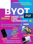 byot classroom posters