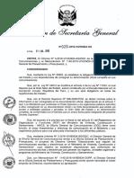 DIRECTIVA GENERAL N° 002-2016-VIVIENDA-SG - DISPOSICIONES QUE REGULAN LAS COMUNICACIONES INTERNAS Y EXTERNAS (1)