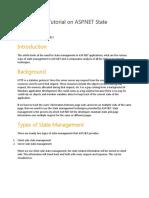 A Beginner's Tutorial on ASP.NET State Management