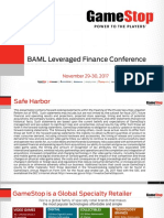 BAML GME Leveraged Fin. Conference ( Final Draft v2)