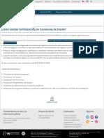 ¿Cómo Solicitar Certificaciones Y_o Constancias de Estudio