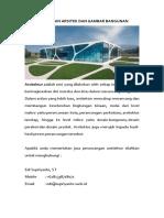 Jasa Gambar Bangunan | Desain Bangunan |  Arsitek | Interior | GedungJawa BaratBanjarJawa