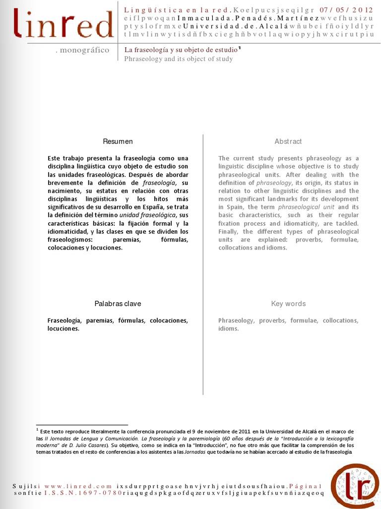 La fraseología y su objeto de estudio.pdf