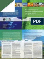 Plan Estratégico Para La Diversidad Biológica 2011-2020 y Las Metas de Aichi