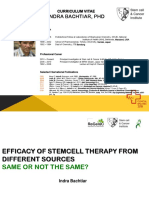 Efficacy of Stemcell Therapy From Different Sources