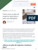 Cómo Crear Un Plan de Negocios_ Guía Paso a Paso (Con Ejemplos)