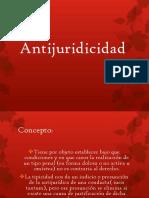 Antijurídicidad