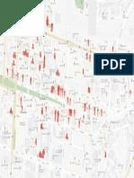Ballarat's Empty Shop Map
