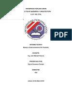 Universidad Peruana Unio1 Informe Topo i