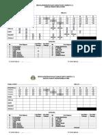 Jadual Waktu Kelas & Persendirian 2018 (Kosong)