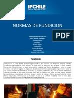 Normas de Fundicion Ppt