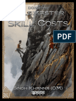 DCM Rolemaster Skill Costs Revised v6