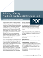 Fluidized-Bed Catalytic Cracking Unit