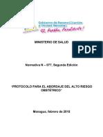 Aro Informe Final 15 de Febrero Del 2018