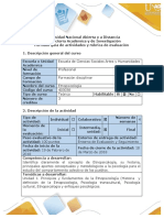 Guía de Actividades y Rúbrica de Evaluación - Paso 2 - Planeación - Definir y Analizar El Problema