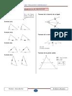 Congruencia de Triangulos 5to Geometria