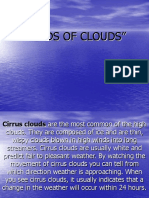 Kinds of Clouds