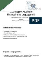 Minicurso II Sabadao Previdenciario - Modelagem Atuarial e Financeira Na Linguagem R