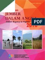 Kabupaten Jember Dalam Angka 2016