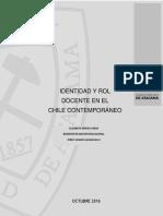 IDENTIDAD Y ROL Docente en El Chile Contemporáneo Zepeda_2016