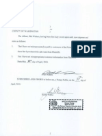 Phil Walters Affidavit