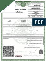 Acta de Nacimiento CUVL850612MTCRLY02