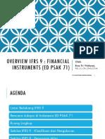 Materi Bu Ersa Overview IFRS 9 HalBil IAI Jabar