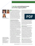 Ten Top Tips Preventing Pressure Ulcers in the Surgical Patient