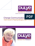 Webcast Crash Course for Preparing Managers for Change Communications