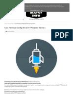 belajar HTTP Injektor