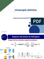 EspectroscopíaAtómica