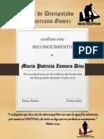 Diplomas Discipulado 1