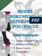 Model Dokumentasi Keperawatan Pos Klp4