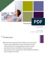 Refreshing pemeriksaan ginekologi.ppt