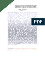 HUBUNGAN PERSONAL HYGIENE DAN PENGGUNAAN ALAT PELINDUNG DIRI.pdf