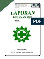 Laporan HSE Bulanan