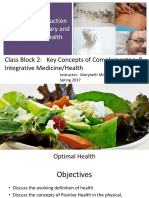 Positive Health Lecture
