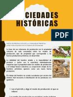 Sociedades históricas
