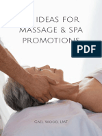 50 Ideas for Massage and Spa Promotion by Gael Wood