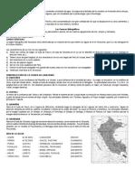 Cuencas Hidograficas Del Peru