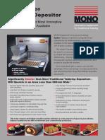 Mono Epsilon Tabletop Depositor