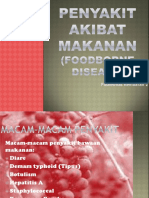 1. Materi Foodborne Disease New